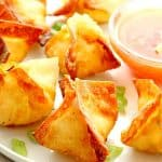 wontons de cream cheese A Wontons de cream cheese de 150x150